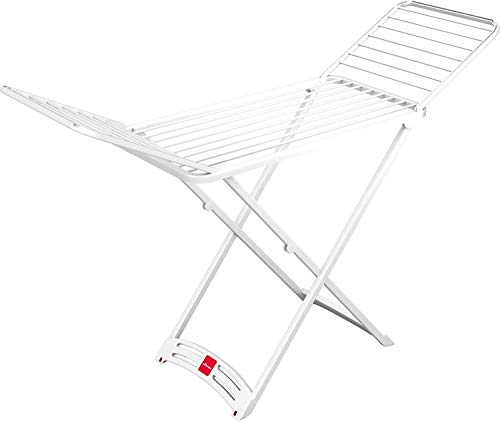 Vileda Solar Tendedero X-Legs de Resina, Blanco, 125.5x9.5x55 cm, plástico