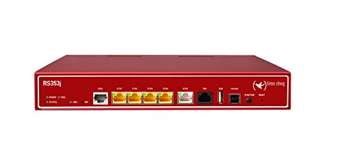 BINTEC RS353jv IP Access Router Tischgerät inkl. VDSL2 u. ADSL2+ Modem Annex B/J u. ISDN 1x ISDN-S0 inkl. 5 IPSec Tunnel ALL-IP