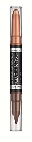 RIMMEL LONDON Magnif'eyes Double Ended Shadow + Liner - Kissed By A Rose Gold