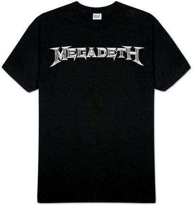 Megadeth Logo Camiseta
