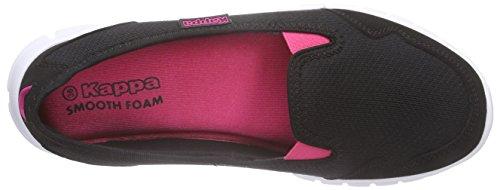 Kappa Gomera Damen Geschlossene Ballerinas Schwarz (1122 black/pink)