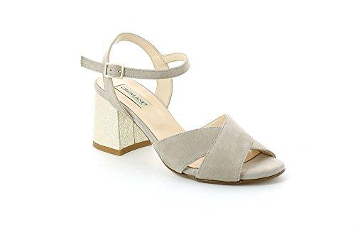 GRUNLAND SA1683 Mali Sandalo Donna P. Beige
