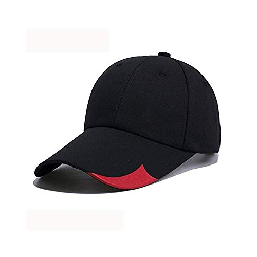 JCM Der Sommerhüte der männlichen Sommerkappe des männlichen Sommers der Persönlichkeit des Mannes im Freien zufällige männliche Baseballkappenvisier ZJ (Color : A)
