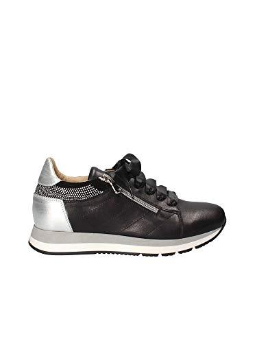 Exton e18 sneakers donna nero 41