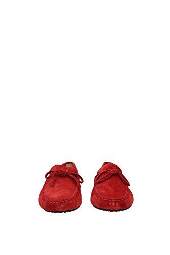 XXM0GW05470RE0R007 Tod's Mocassins Homme Chamois Rouge Rouge