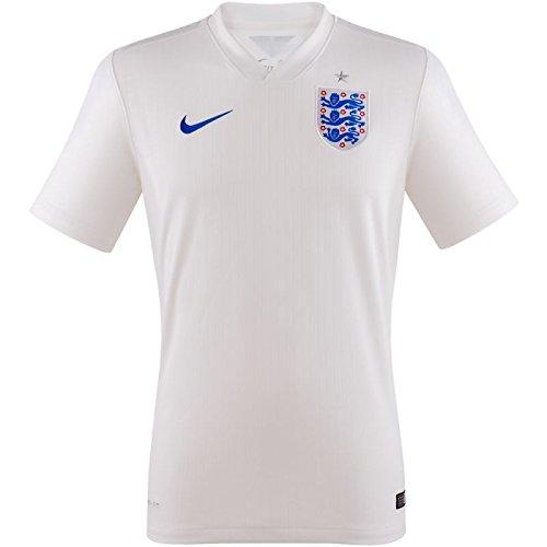 Nike Herren England Home Match WM 2014 Heimtrikot, weiß, 48/50 England-match