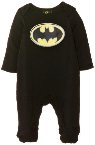 Batman - Pijama para bebé, talla 0 - 3 Months - talla inglesa, color negro