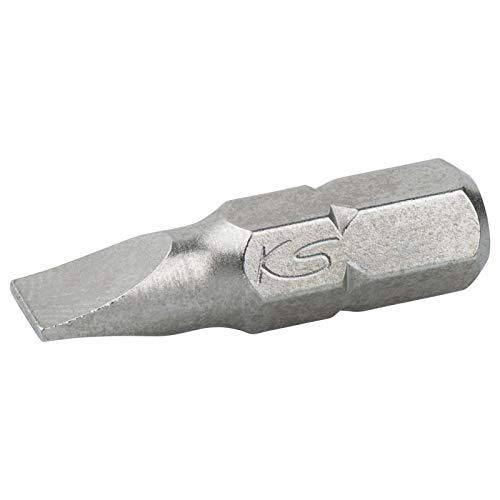 KS Tools 911.2253 Boîte de 5 Embouts de Vissage Fente, L.25 mm - 1/4'' - 8 mm