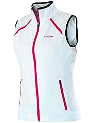 Head Club Vest - Polo para mujer, color blanco, talla L