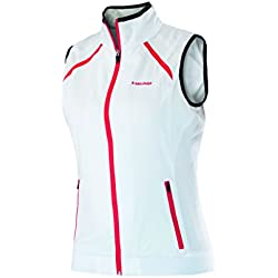 Head Club Vest - Polo para mujer, color blanco, talla L