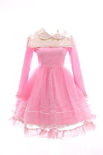 Kawaii-Story JL-565-2 Pink Rosa Gothic Lolita Japan Kleid Kostüm dress Cosplay Babydoll (Gr. M) (Toy Story 2 Kostüme)
