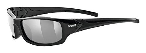 Uvex Erwachsene Sportstyle 211 pola Sportbrille, black, One size