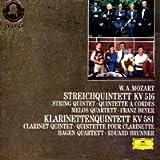 Mozart: String Quintet in G minor KV 516 / Quintet for Clarinet and String Quartet in A major KV 581 (UK Import)