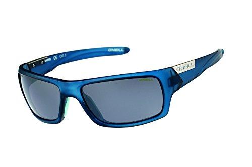 Oneill ONS Barrel Polarised Sunglasses - Matt Blue/Silver Mirror