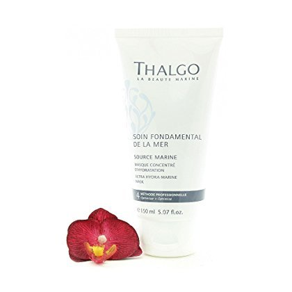 Intensiv Feuchtigkeit Maske (Thalgo Source Marine Masque Concentré d'Hydratation - Intensiv Feuchtigkeits Maske 150ml (Salon Size))
