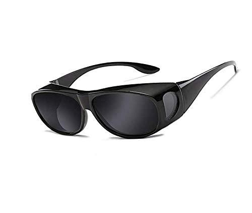 OUTANG Outdoor Sport Sonnenbrillen Polarisierte Objektivabdeckung Fit über Sonnenbrillen tragen...