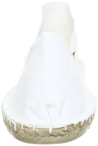 ESPADRIJ LORIGINALE classic 100 Unisex-Erwachsene Espadrille Halbschuhe Weiß (Weiß (blanc 10) 10)