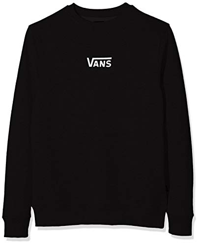 Vans Herren French Terry Classic Crew Sweatshirt, Schwarz (Black Blk), Medium Terry Sweatshirt