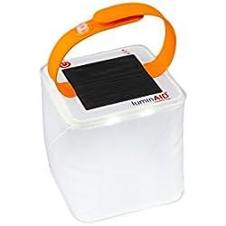 Farol solar inflable PackLite Halo de LuminAID.