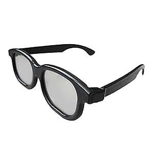 lunettes 3D polarisées, lunettes 3D anaglyphes polarisée / lunettes spéciales 4d machine à double cinéma