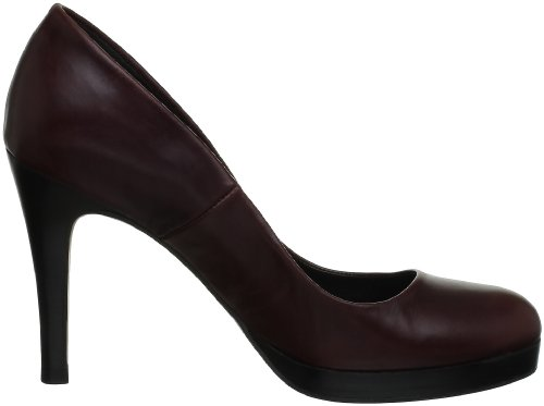Jonak 088-10884, Scarpe col tacco donna rosso (Rouge (Bordeaux))