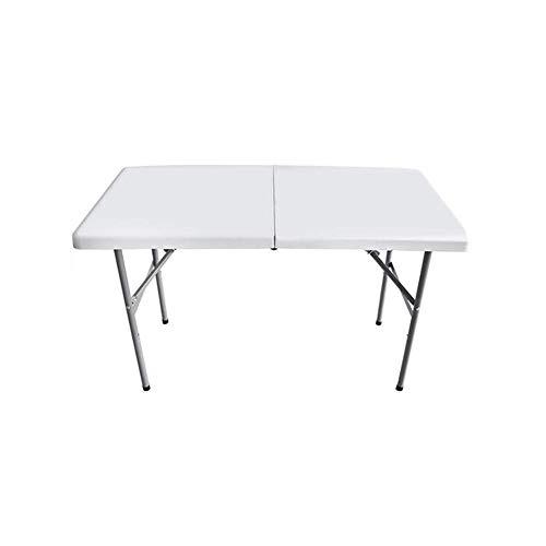 LICCC Klapptisch Einfache Outdoor Tragbare Lange Tabelle Sitzung Training Aktivität Stall Lange Tisch Home - Höhenverstellbar Aktivität Tabelle