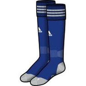 Cobalt-bereich (Adisock 12 Socks - Cobalt/White - size 8.5-10)
