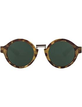 MR.BOHO, High-Contrast tortoise hackney with classical lenses - Gafas De Sol unisex multicolor (carey), talla...