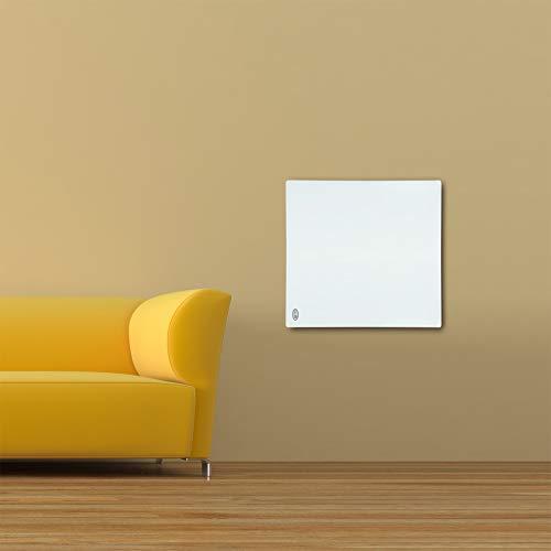 Panel radiante infrarrojos Panel calefactor Calefacción infrarrojos Radiador eléctrico IR 60x60cm