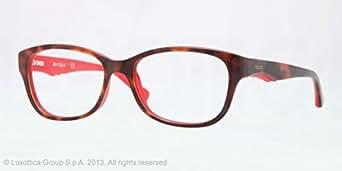 VOGUE Monture lunettes de vue VO 2814 2105 Top foncé Havane Rouge 53MM