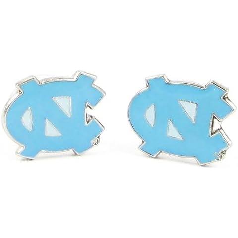 North Carolina Tar Heels - NCAA Team Logo Post Earrings by aminco