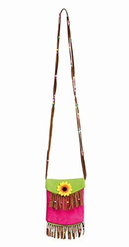 Boland 52270 Handtasche Tropical, Mehrfarbig, 22 x 17 cm
