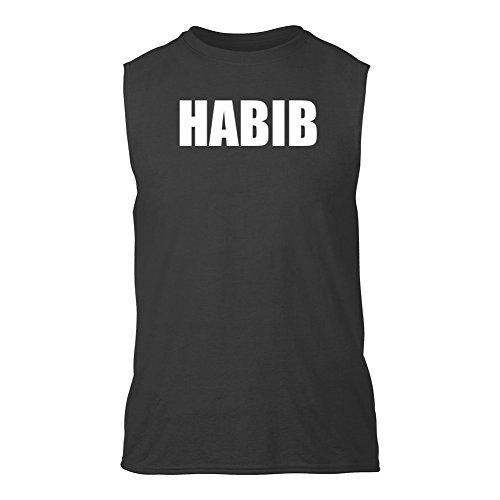 habib-senza-maniche-t-shirt-grigio-scuro-l