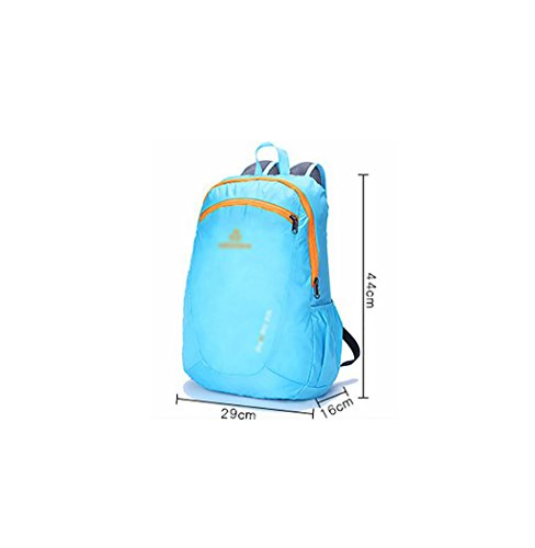 HWLXBB Outdoor Bergsteigen Tasche Männer und Frauen 20L Wasserdichte Mehrzweck-Bergsteigen Tasche Wandern Camping Bergsteigen Freizeit Rucksack Rucksack 5*