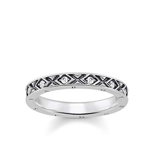 THOMAS SABO Damen-Ringe 925 Sterlingsilber mit \'- Ringgröße 60 TR2161-643-14-60