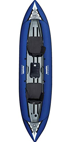 Aquaglide Chinook XP Tandem XL 3 Person Inflatable Kayak Package
