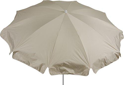 beo Parasol Rond diamètre 200 cm étanche, Beige