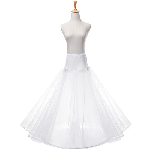 Women's A-line Hoopless Bridal Petticoat 3-Layers Gown for sale  Delivered anywhere in UK