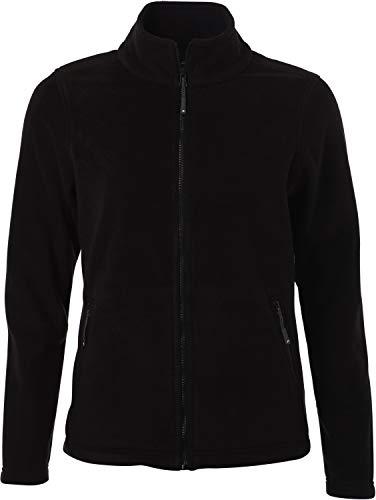 James & Nicholson - Damen Fleece Jacke mit Stehkragen im Klassischen Design*