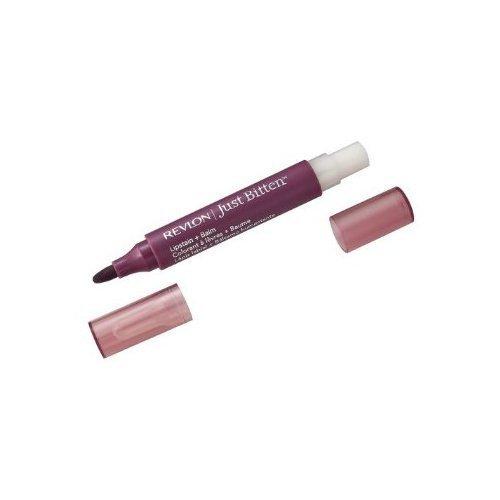 Revlon Feutre à lèvres + baume Just Bitten - Couleur hydratante magnifique - Longue tenue - Coloris Beloved (Ensemble de 2)