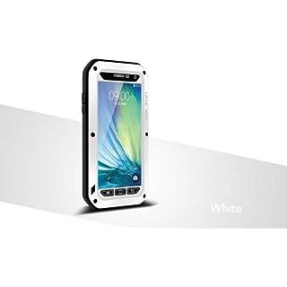 Wasserdichte Schutzhülle für Samsung Galaxy A5 2015 Version, Love Mei Marke Aluminium Material mit Gorilla Glas Display Cover (2015 Version)