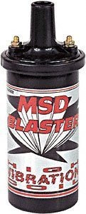 MSD 8222 Blaster High Vibration Ignition Coil by