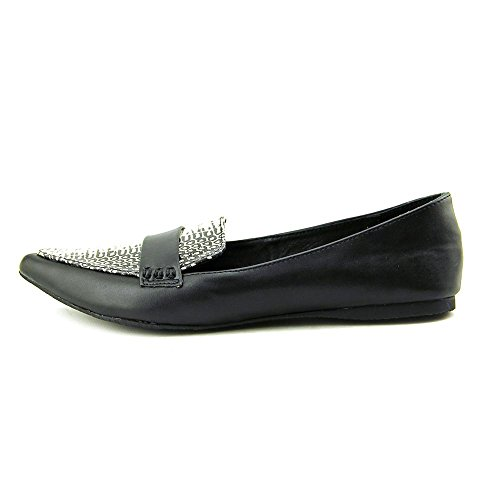 Steve Madden Erosion Synthétique Chaussure Plate Blk-Whte