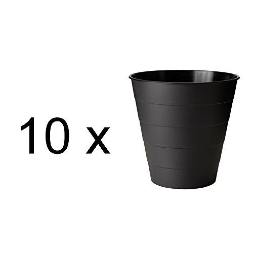 Papier-kunststoff-korb (IKEA 10-er SET Papierkorb