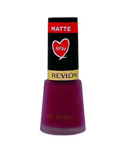 Revlon Nail Enamel, Berry Crimson, 8ml