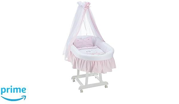Easy baby komplettstubenwagen dessin rabbit rose weiß
