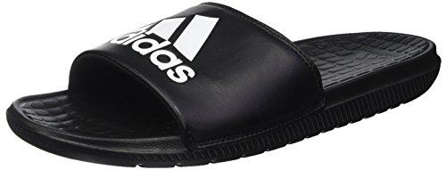 Adidas voloomix, scarpe da spiaggia e piscina uomo, nero (cblack/ftwwht/cblack), 39 1/3 eu