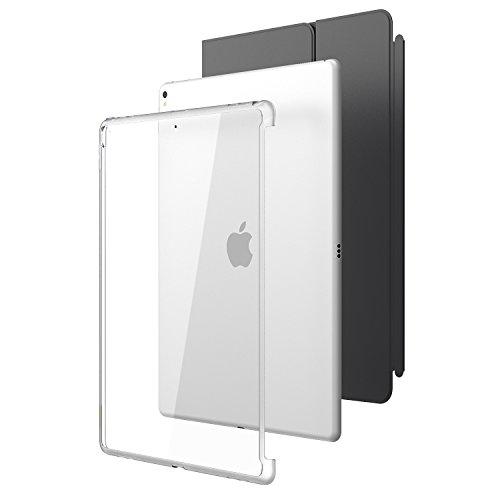 i-Blason iPad Pro 12,9 2017 Hülle, Kratzfest Schutzhülle Transparent Case Hard Back Cover für Apple iPad Pro 12.9 [Kompatibel mit Smart Cover und Smart Keyboard], Transparent
