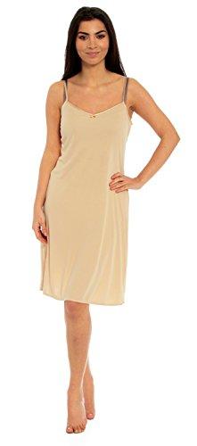 Ex Marks & Spencer M&S Ladies Full Slip Cami Vest Black Skin White - Size UK 10 12 14 16 18 20 22-3 Lengths