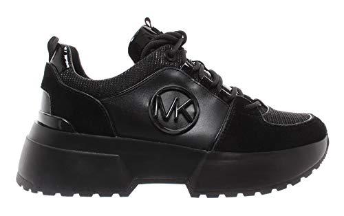 Michael Kors Sneaker Cosmo Trainer Glitter Chain MESH BLK Taglia 40 - Colore Nero